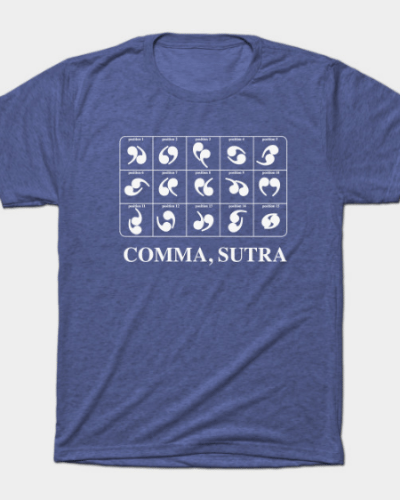 Comma, Sutra T-Shirt