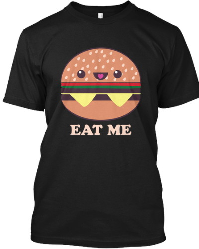 Eat Me! Kawaii Fast food Burger
