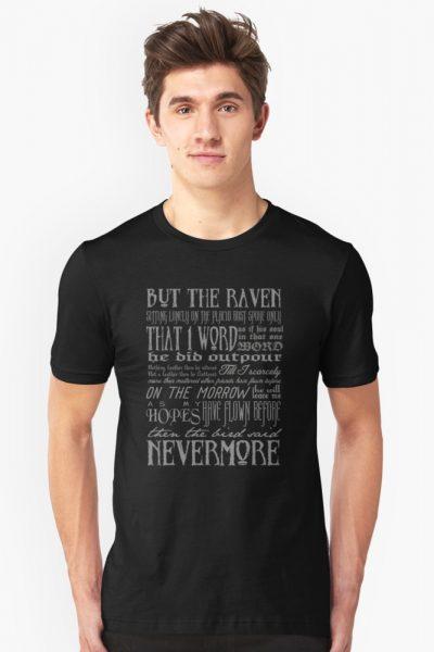 Edgar Allan Poe RAVEN typography