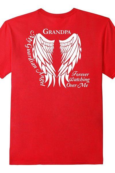 Grandpa Guardian Angel T-Shirt