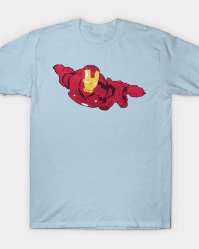 Iron Man Flies T-Shirt