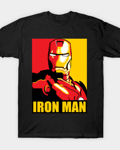 Iron Man (Red and Gold) T-Shirt