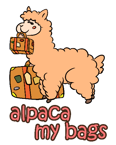 Kawaii Cute Anime Alpaca Geek Tee T-Shirt