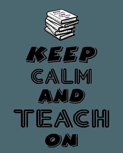 Keep Clam And Teach On T-Shirt