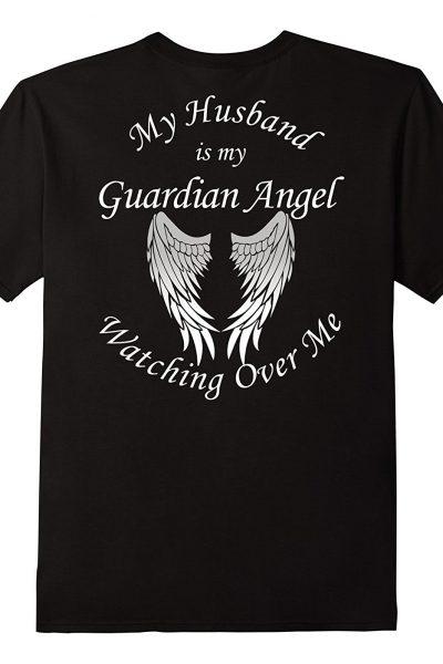 My Husband My Guardian Angel Shirt