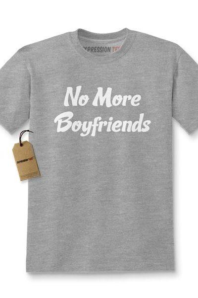 No More Boyfriends Kids T-shirt
