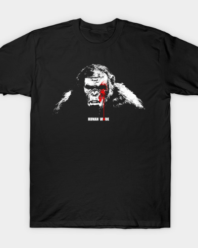 Planet of the Apes: Human Work T-Shirt