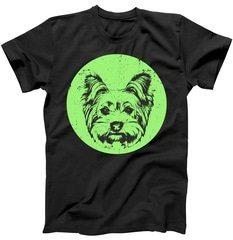 Portrait of Yorkshire Terrier Dog T-Shirt   TeeShirtPalace