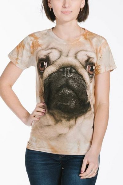 Pug Face Women's T-Shirt