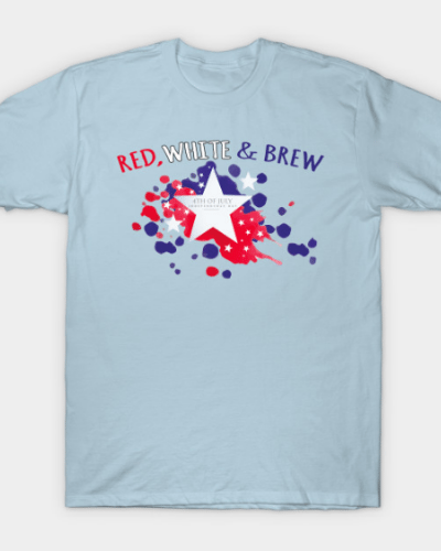 Red, White and Brew T-Shirt