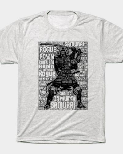 Samurai Rogue Ronin type T-Shirt