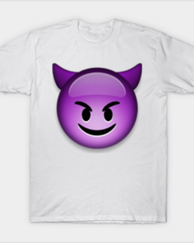 smiling face with horns T-Shirt