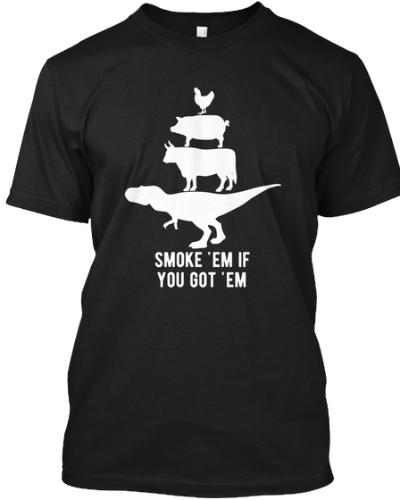 Smoke 'em if you got 'em Funny BBQ Grill