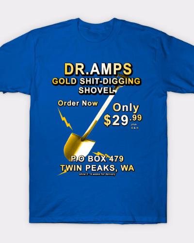 Twin Peaks Gold Shovel T-Shirt
