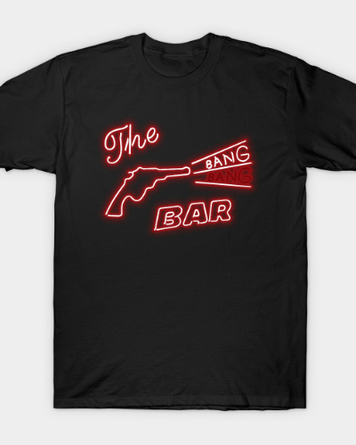 Twin Peaks The Bang Bang Bar Logo T-Shirt