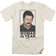 Woman Of The Year Parks and Recreation T-Shirt