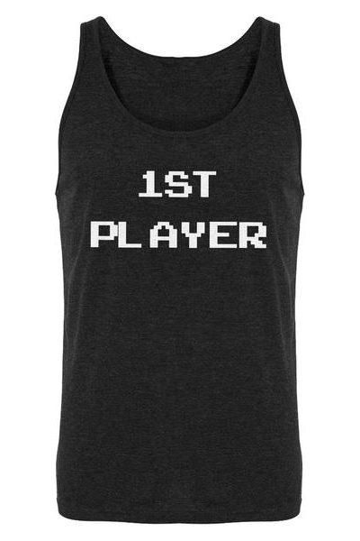 1st Player Mens Sleeveless Tank Top