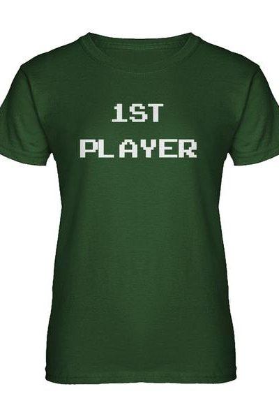 1st Player Womens T-shirt