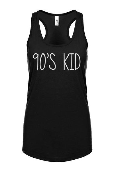90s Kid Womens Sleeveless Tank Top