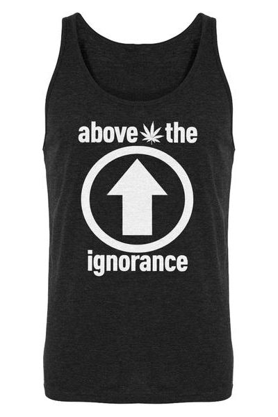 Above the Ignorance Mens Sleeveless Tank Top