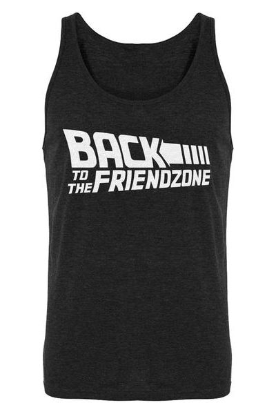 Back to the Friendzone Mens Sleeveless Tank Top
