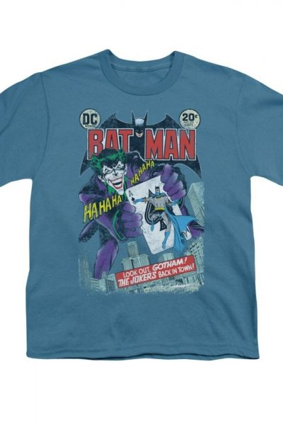 Batman – #251 Distressed Comic Cover Youth T-Shirt