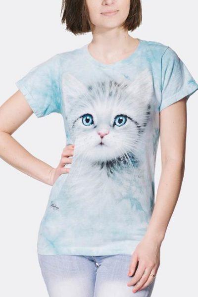 Blue Eyed Kitten Women's T-Shirt