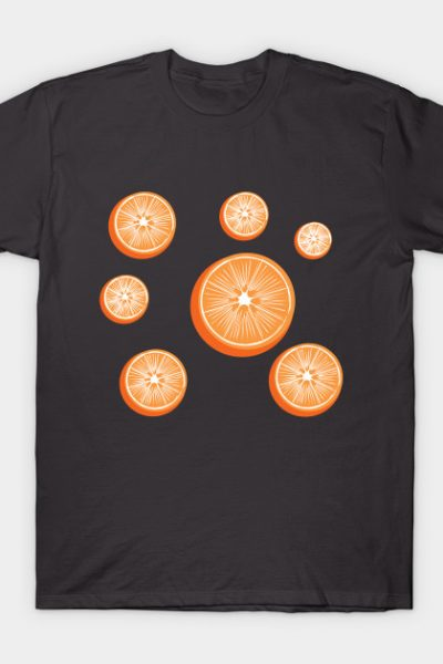 Constellation of Oranges by Cricky T-Shirt