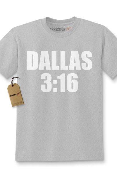 Dallas 3:16 Wrestling Kids T-shirt