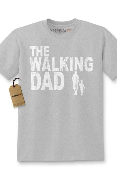 Expression Tees The Walking Dad Father's Day Kids T-shirt