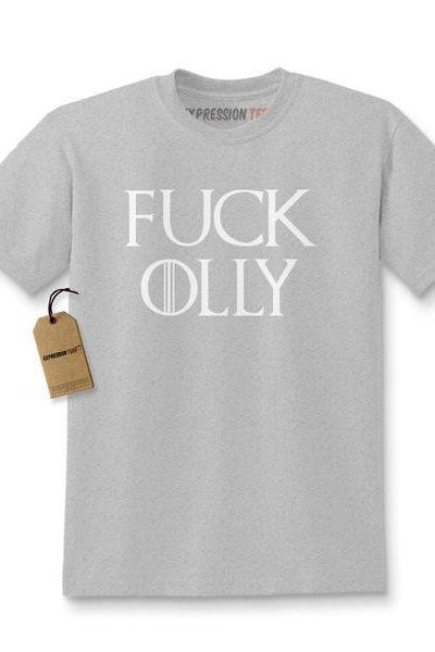 F*ck Olly GoT Nights Watch Kids T-shirt