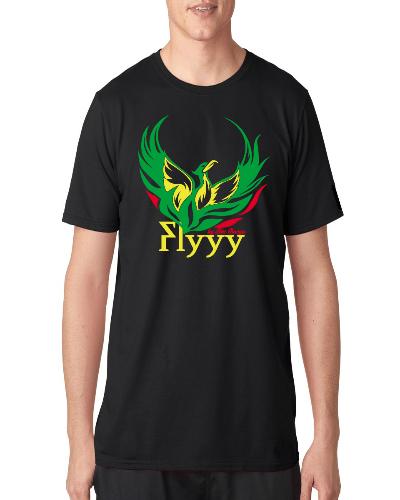 Flyyy Gold Money Firebird Tee