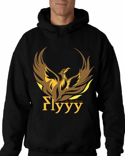Flyyyy Golden Brown Firebird Tee