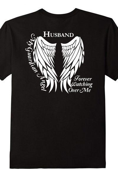 Guardian Angel Shirt – Husband Loving Memory Tee