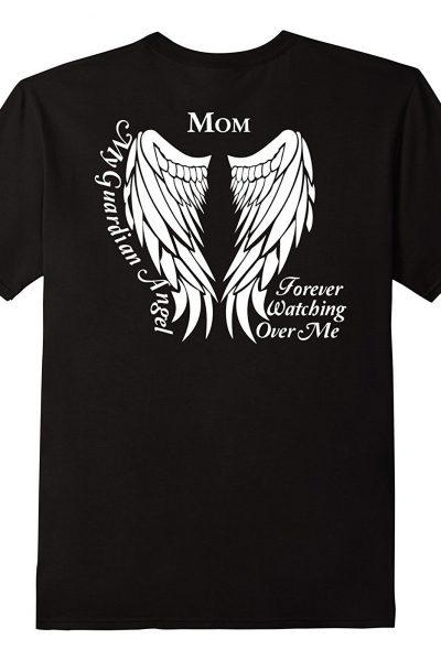 Guardian Angel Shirt – Mom Guardian Angel Memorial Gift