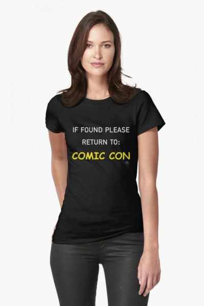 If Found Please Return to Comic Con