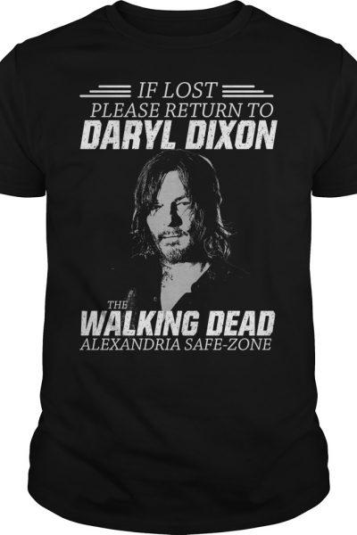 If lost please return to Daryl Dixon the Walking dead Shirt, hoodie, tank top
