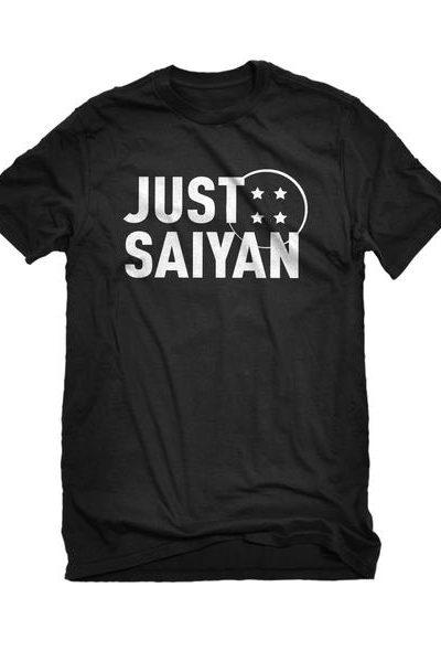 Just Saiyan Mens Unisex T-shirt
