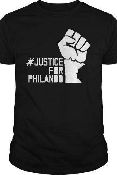 Justice for philando shirt, hoodie, tank top and v-neck t-shir