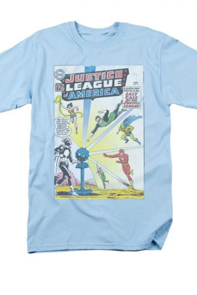 Justice League of America – Vintage Comic Cover #12 Adult Regular Fit T-Shirt