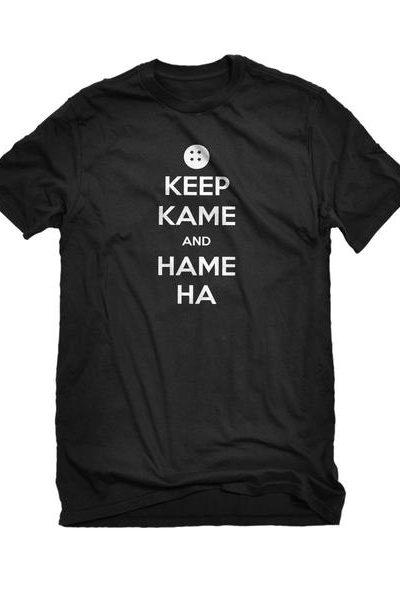Keep Kame and Hame Ha Mens Unisex T-shirt