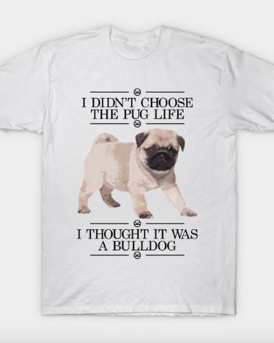 Kingsman – Pug Life (Black) T-Shirt