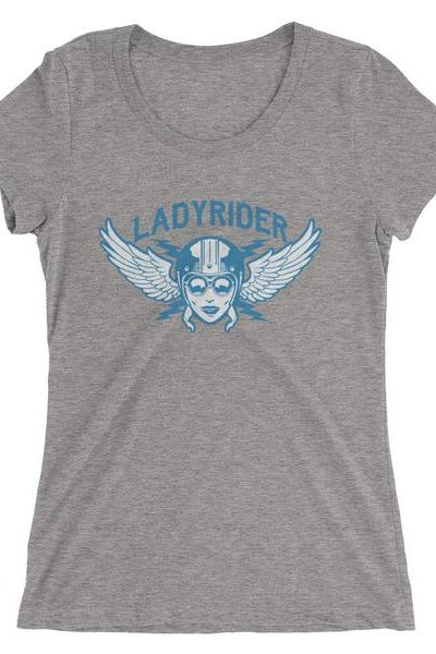 Lady Rider Motorcycle Ladies' short sleeve t-shirt