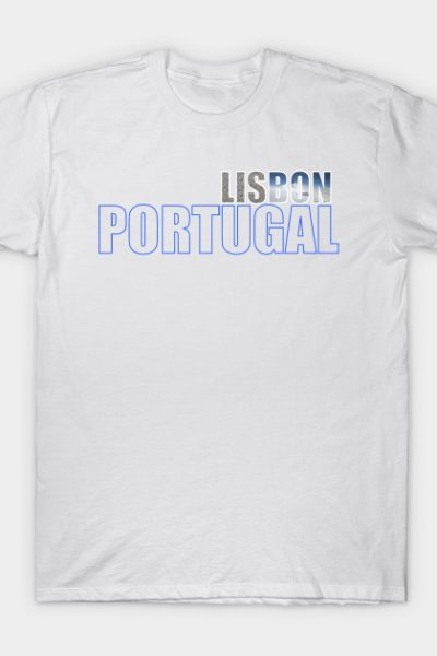 Lisbon, Portugal Tile & Sky T-Shirt