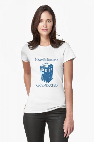 Nevertheless, She Regenerated DW13