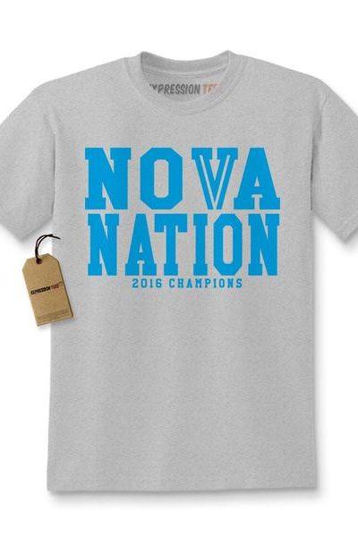 Nova Nation 2016 Basketball Champions Kids T-shirt