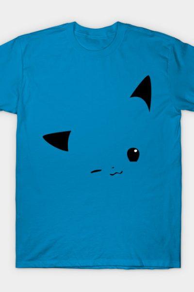 Pikachu Minimalist #025 T-Shirt