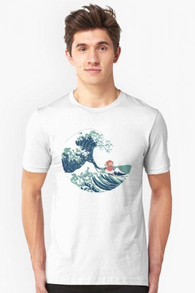 Ponyo and The Great Wave off Kanagawa – Moderne