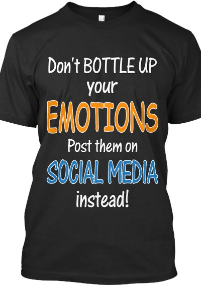POST your EMOTIONS to SOCIAL MEDIA!