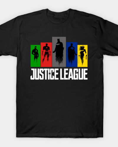 Shadow of Justice League T-Shirt